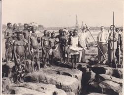 CONGO STANLEYVILLE Les WAGENIAS Août 1956 Kamiel HUYSMANS Photo Amateur Environ 7 Ccm X 10 Cm - Afrique