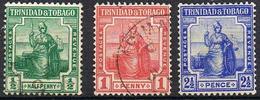 TRINITE ET TOBAGO YT 78-79-80 - Trinidad & Tobago (...-1961)