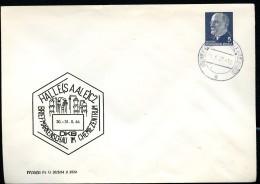 DDR PU14 D2/004 Privat-Umschlag Stpl. CHEMIEARBEITERSTADT Halle (Neustadt) 1967 - Briefe U. Dokumente