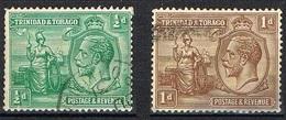 TRINITE ET TOBAGO YT 110-111-112-113-114 - Trinidad En Tobago (...-1961)