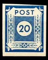 SBZ OSTSACHSEN Nr 54a Postfrisch X655D06 - Zone Soviétique