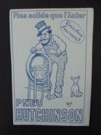 BUVARD - ILLUSTRATEUR : MICH - PNEU HUTCHINSON - GRAND FORMAT - TRES TRES PETIT MANQUE MARGE BASSE - VOIR SCAN - Buvards, Protège-cahiers Illustrés
