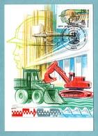 Carte Maximum 1991 - Ecole Spéciale Des Travaux Publics - YT 2726 - Paris - Cartes-Maximum