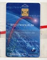 TUNISIE TELECARTE REF MV CARDS TUN-C-09 50U INTERNET 1 Date 09 1998 30 000ex MINT BLISTER - Tunesien