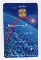 TUNISIE TELECARTE REF MV CARDS TUN-C-10 50U INTERNET 2 Date 01 2000 50 000ex - Tunesien