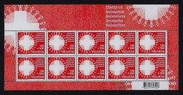 "2020 SVIZZERA ""COVID 19"" MINIFOGLIO MNH - Unused Stamps"