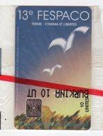 BURKINA FASO TELECARTE REF MV CARDS BKF-22 10U 13eme FESPACO SC5 Date 1993 - Burkina Faso