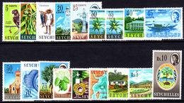 Seychelles 1962-68 Set Unmounted Mint. - Seychelles (...-1976)