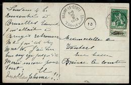 Carte écrite: Peinture ; Obl. Esmael  1913 Pour Braine - Le - Comte 16/02/1913 - Belgique