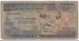 ETHIOPIA P. 33b 50 B 1976 F - Ethiopia