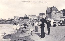 35 - Ille Et Vilaine -  SAINT ENOGAT - La Plage Et Les Villas De La Mer - France