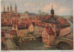 Bamberg - Mit Rathaus - 1954 - Bamberg