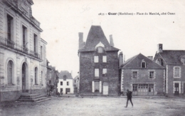 56 - Morbihan - GUER - Place Du Marché - Coté Ouest - Guer Coetquidan