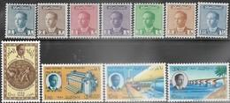 Iraq   1957   Sc#167, 170-2, 174-7A MNH, 179-80  MLH   2016 Scott Value $10.10 - Iraq