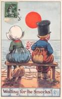 "ILLUSTRATEUR - SHEPHEARD - ""WAITING FOR THE SMACKS"" - LITTLE HOLLANDERS SERIES II N°9841 - Shepheard"