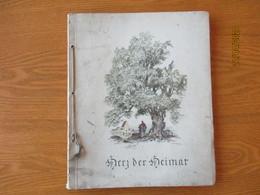1940 STUTTGART ,  HERZ DER HEIMAT , WONDERFUL ILLUSTRATIONS OF FRITZ BUSSE    , 0 - Livres, BD, Revues