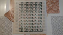FEUILLE COMPLETE N° Y Et T 1379 ** Année 1963 - Full Sheets