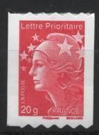 N° 599 Année 2011  Marianne De Beaujard Adhesif Roulette Sans Faciale 20g - France