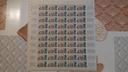 FEUILLE COMPLETE N° Y Et T 1389 ** Année 1963 - Full Sheets