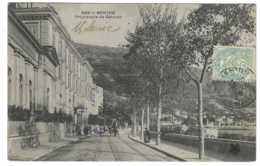 06  MENTON  MTIL N° 586  Promenade De Garavan  . - Menton
