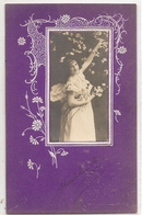 FF 726 OLD ( 1905 )  FANTASY POSTCARD ,  FINE ART  , FEMALE FIGURATIVE - Mujeres