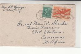U.S. / Airmail / Cameroun - Unclassified