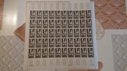 FEUILLES COMPLETES N° Y Et T 1394-1394A ** Année 1963 - Full Sheets