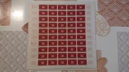 FEUILLES COMPLETES N° Y Et T 1396-1397 ** Année 1963 - Full Sheets
