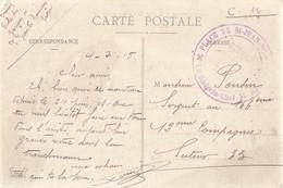 SAVOIE CP 1915 ST JEAN DE MAURIENNE HOPITAL ( ECOLE DES GARCONS ) - 1877-1920: Période Semi Moderne