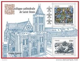 France N° 4930 F ** Feuillet De La Basilique De Saint DENIS - France