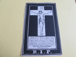 DOODSPRENTJE  FRANCISCUS HUYBRECHTS - Images Religieuses