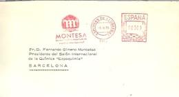 POSTMARKET 1975 ESPAÑA  ESPLUGAS DE LLOBREGAT   MONTESA - Motorbikes