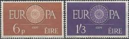 Cept 1960 Irlande Ireland Eire Yvertn° 146-147 *** MNH Cote 50 Euro - 1960