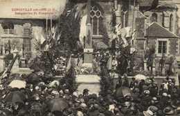 LONGEVILLE Sur AINE  Inauguration Du Monument RV - Autres Communes