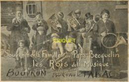 44 Bouvron, Souvenir Du Passage De La Famille Du Papa Becquelin, Cor, Trompettes, Trombonnes... - France