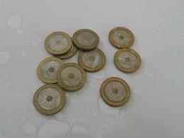 Lot  De 10 Monnaies   De 20 Francs  Monts  Saint - Michel  Vente  Uniquement  En France - Francia