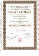 75-CONVERTIMO.  SICAV, Voir Texte - Acciones & Títulos
