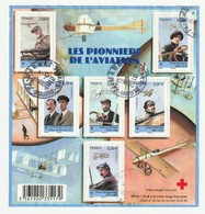 France Frankreich 2010 Michel Block 134 Gestempelt, Yvert Bloc F4504 Oblitéré Marnaz, Les Pionniers De L'aviation - Blocs & Feuillets