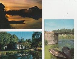 20 / 4 / 343. -  LA. VENISE  VERTE  ( 79 )  LOT  DE  15  C P M. -  Toutes Scanées Dos. - Divisé         Circulé -  Oui. - 5 - 99 Postcards