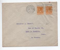 1927 - ENVELOPPE De 'S GRAVENHAGE Pour LONS LE SAUNIER (JURA) - Poststempel