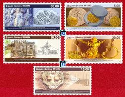Sri Lanka Stamps 2008, Late Anuradhapura Era, MNH - Sri Lanka (Ceylon) (1948-...)