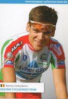 Cyclisme, Kenny Geluykens - Cyclisme