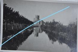 Photo SAINT OMER Ou Région Pre 1914 Canal Entrée De La Ville - Lieux