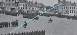 Photo SAINT OMER Ou Région Pre 1914 Démonstration Militaire Armée Française Commerces Boulangerie - Lieux