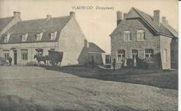 Vladslo Dorpplaats (zeer Oude Kaart ) - Diksmuide