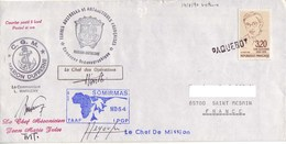 FSAT TAAF Marion Dufresne. 14.08.90 Victoria Seychelles Camapgne Oceanographique MD64 - Briefe U. Dokumente
