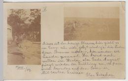 (45264) Foto AK Strauße In Einem Camp In Uruguay, Mehrbildkarte 1907 - Dieren