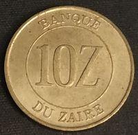 ZAIRE - 10 ZAIRES 1988 - Mobutu - KM 19 - Zaire (1971-97)
