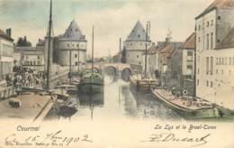 Courtrai - La Lys Et Le Broel-Toren - Edit. Nels Série 41 N° 25 Couleurs - Kortrijk