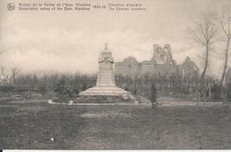 Vladslo Vladsloo Ruines De La Vallée De L'Yser 1914-18 Cimetière Allemand - Diksmuide